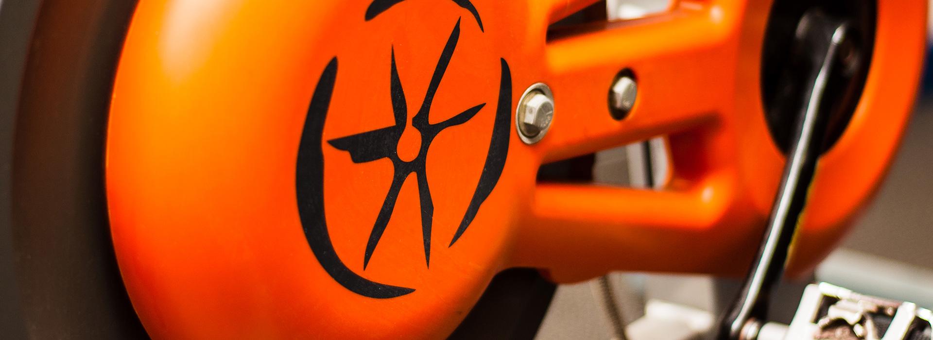 Orange-bike