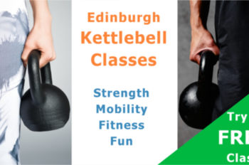 Kettlebell class at the club Edinburgh